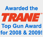 Trane Top Gun Award